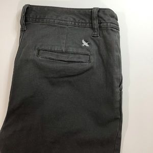 4/$25 Gray Eddie Bauer Slightly Curvy Skinny Pants